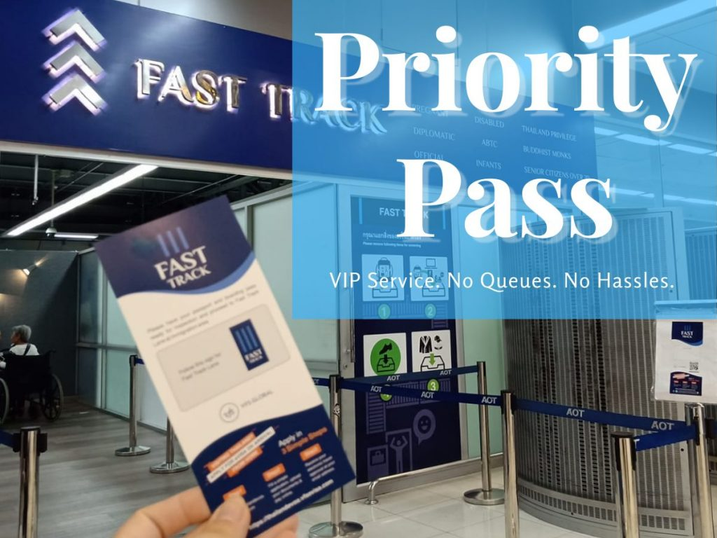 Bangkok Airport Fast Track Immigration Priority Pass