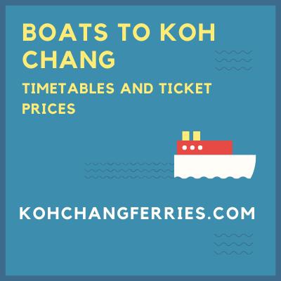 Ferries to Koh Chang, Koh Mak and Koh Kood