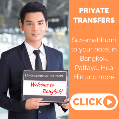 Private transfers to and from Suvarnabhumi Airport
