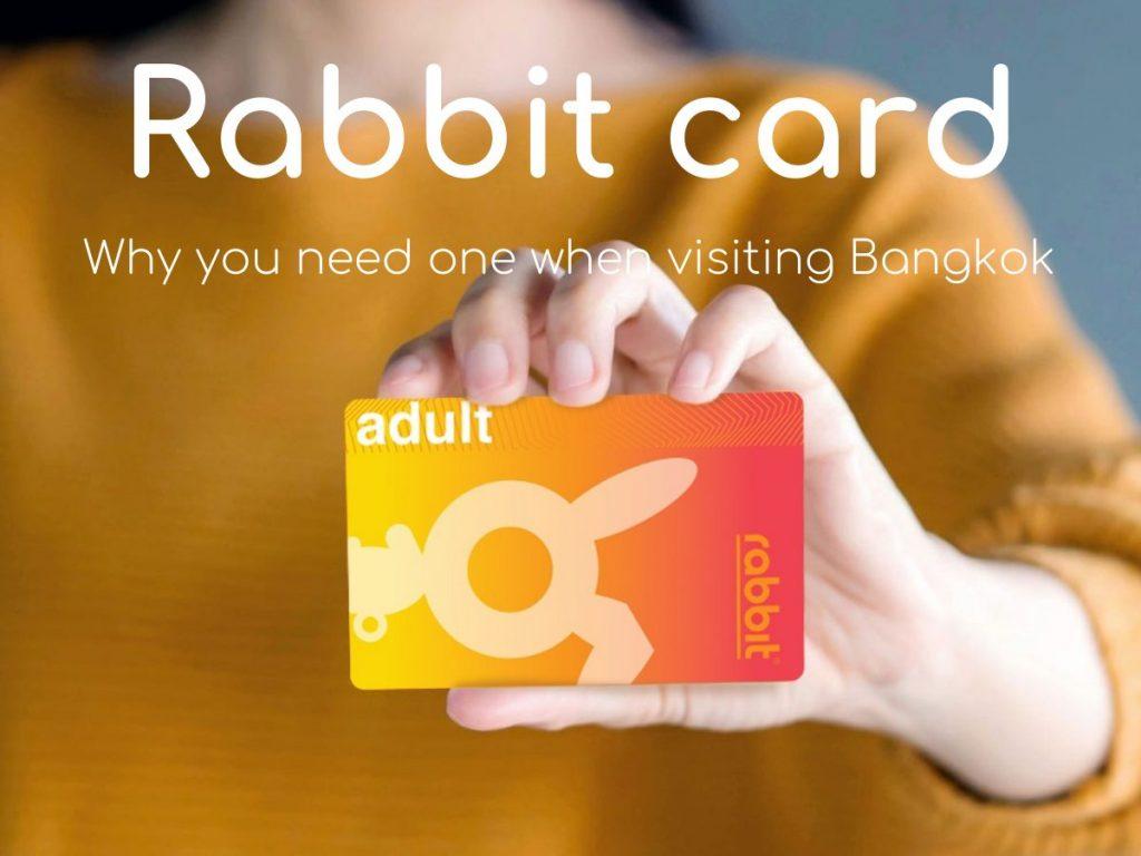 Rabbit Card Stored Value Transit Bangkok