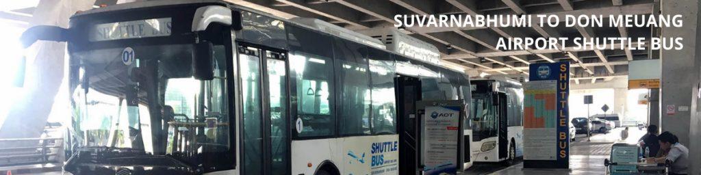 Suvarnabhumi Don Meuang Airport Shuttle Bus 1
